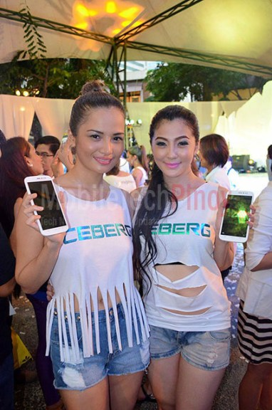 Models with the MyPhone Iceberg