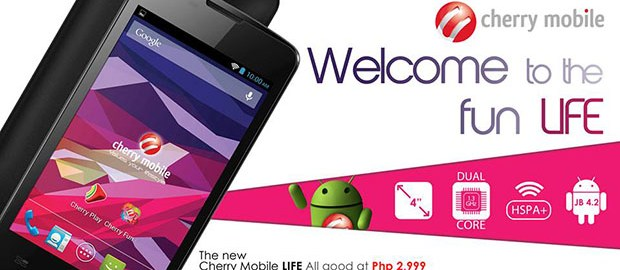 Cherry Mobile Life Official Press Graphic