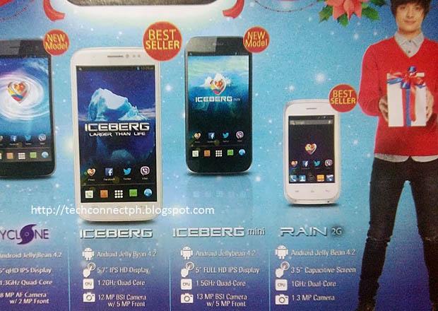 MyPhone Iceberg Mini Automatic Flyer