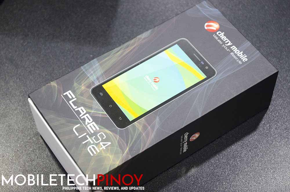 Cherry Mobile Flare S4 Lite Hands on Impressions