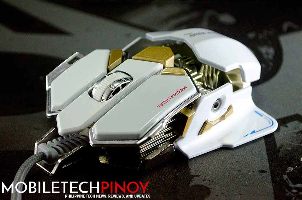 CDR King BLACK USB Gaming Mouse Review: Mad Catz Styling with 10 Customizable Buttons!