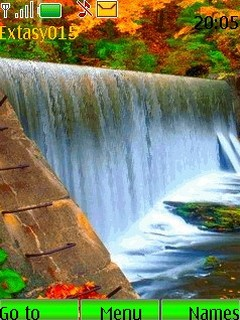 Pc Fall Wallpaper Download Waterfall Animated Nokia Theme Mobile Toones