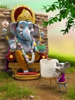 Sai Baba Wallpaper Download 3d Download Jay Shri Ganesh Mobile Wallpaper Mobile Toones