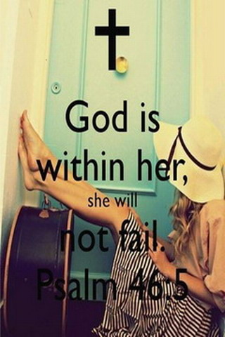 Download God Is Within Her IPhone Wallpaper Mobile Wallpaper | Mobile Toones