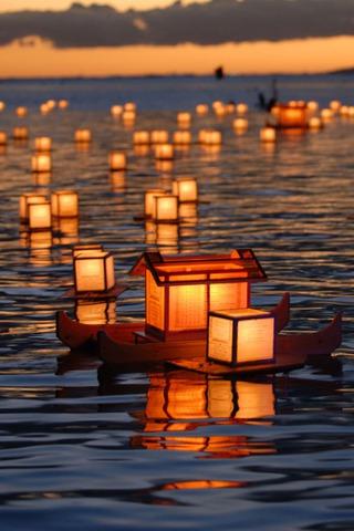 Download Lantern Floating Hawaii IPhone Wallpaper Mobile Wallpaper   Mobile Toones