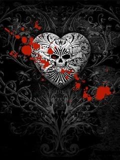 Bullet For My Valentine Wallpaper Hd Download Skull Heart Mobile Wallpaper Mobile Toones