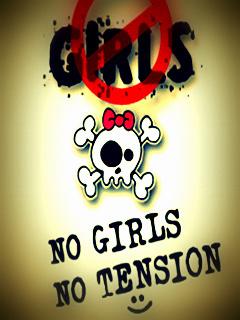 No Girl No Tension Hd Wallpaper Download Download No Girls No Tension Mobile Wallpaper Mobile Toones