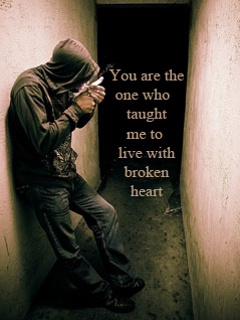 Broken Heart Quotes Wallpapers Free Download Download Broken Heart Mobile Wallpaper Mobile Toones