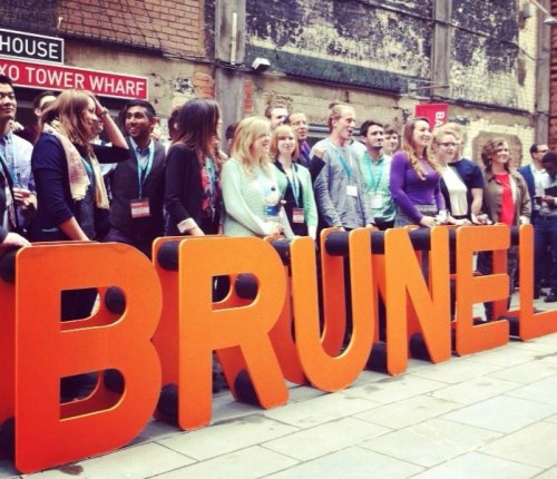 Made in Brunel and MEX workshops at the Bargehouse, London