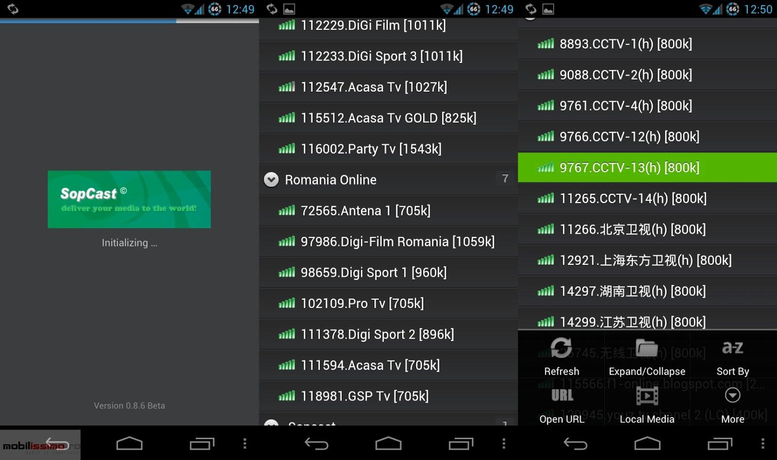 Tv Pe Mobil Cu Sopcast Desc Rca Cea Mai Recent Versiune