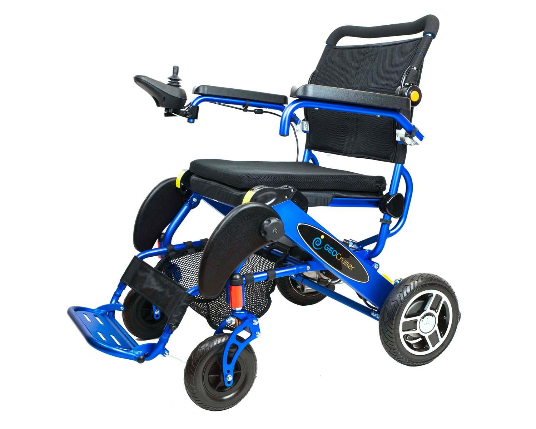 Geo Cruiser Ex Ultra Lightweight Folding Power Wheelchair