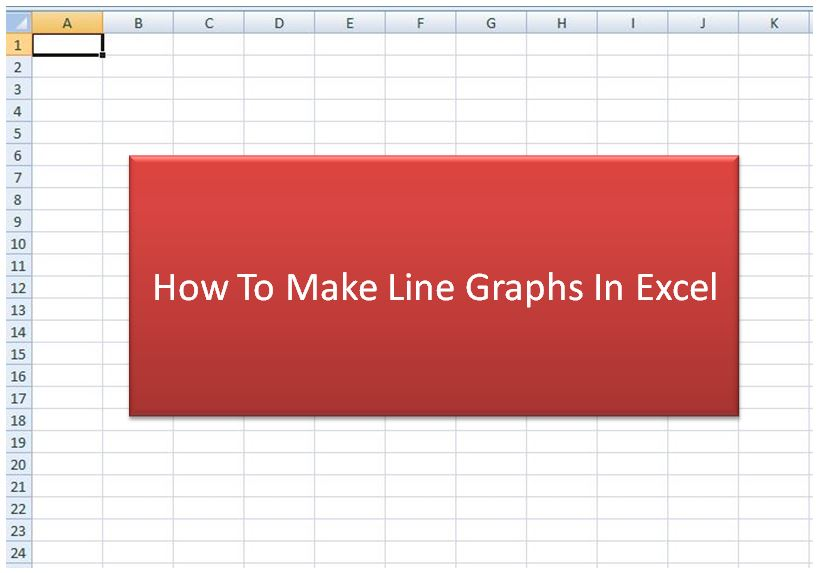 How to Make a Line Graph in Excel Pictures MobiPicker