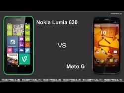 Moto E vs Nokia Lumia 630