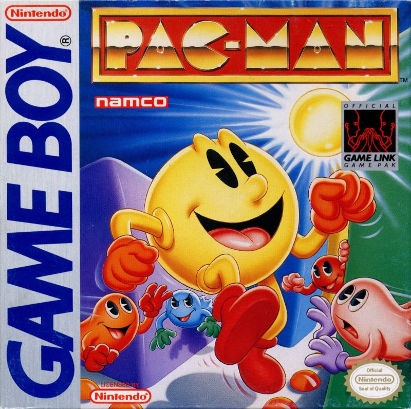 Fixed Gear Wallpaper Iphone Pac Man For Game Boy 1990 Mobygames