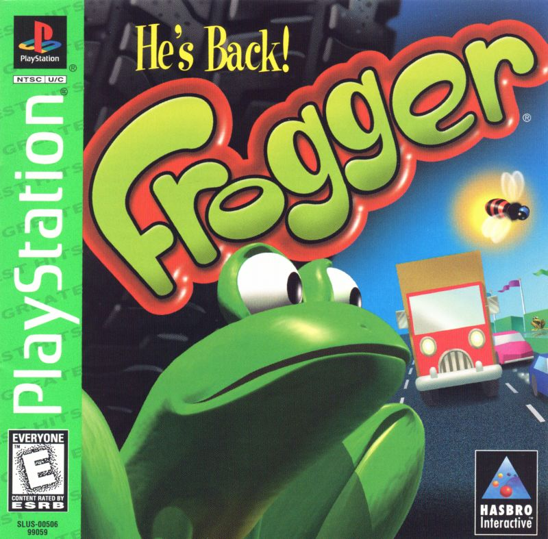 Stores That Have 3d Wallpaper Frogger For Playstation 1997 Mobygames