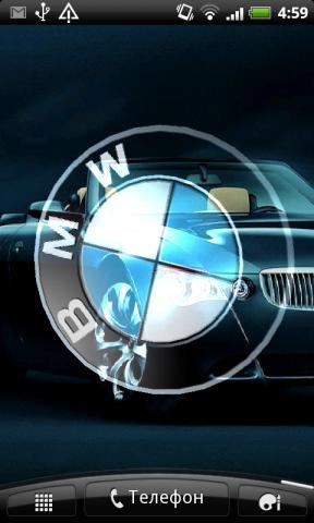 3d Live Wallpaper For Mobile Скачать бесплатно Bmw 3d Logo Live Wallpaper