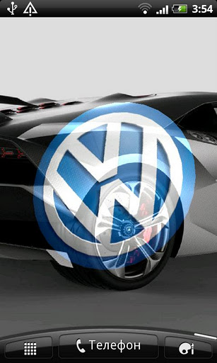 Volkswagen 3d Logo Live Wallpaper Android Скачать бесплатно Volkswagen 3d Logo Live Wallpaper