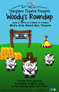 11x17 Woodys Roundup Poster