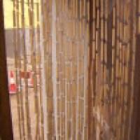 Cortinas de bambu, um ítem decorativo interessante