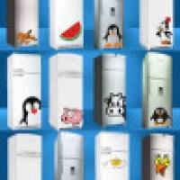 Adesivos para geladeira que modernizam o visual da cozinha
