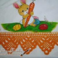 Fotos de pano de prato com crochê, vários modelos