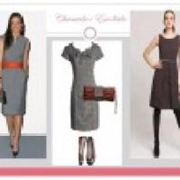 Vestidos tubinhos modernos, modelos bonitos