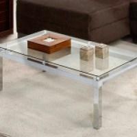 Mesa de centro com vidro, confira a beleza de cada modelo