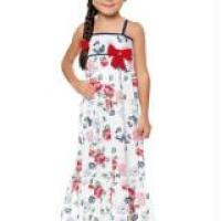 Vestido infantil longo em cores e modelos diferentes