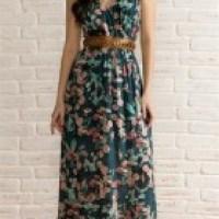 Vestido longo casual é para um look charmoso