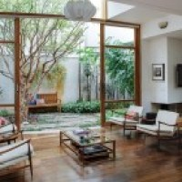 Casa e jardim - a harmonia traz conforto e aconchego
