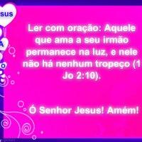 Mensagem bíblica de amor, conforto para alguém