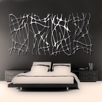 Brushed Aluminum: Brushed Aluminum Wall Art