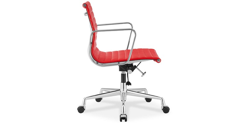 Eames Style Ea117 Low Back Ribbed Office Chair Inspired By