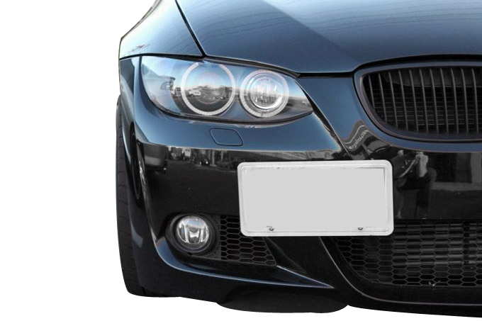 No Holes License Plate Holder For Bmw E9x F32 F30 F80 F82