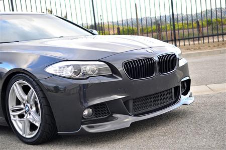 BMW F10 5 Series M Tech Carbon Fiber Front Spoiler Front Passenger