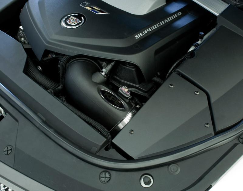 Korkar Performance Engineering Cadillac CTS-V Cold Air Intake Installed