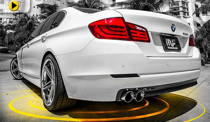 Magnaflow Cat Back Exhaust for 2008-11 BMW 528i [F10] View 1