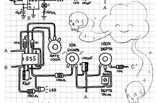 circuit bent speak and spell