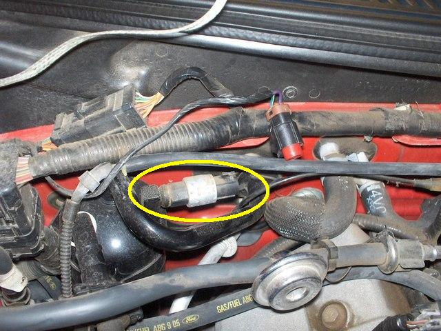 location of A/C fuse? - Forums at Modded Mustangs
