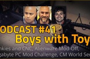 Podcast #40 - Boys with Toys