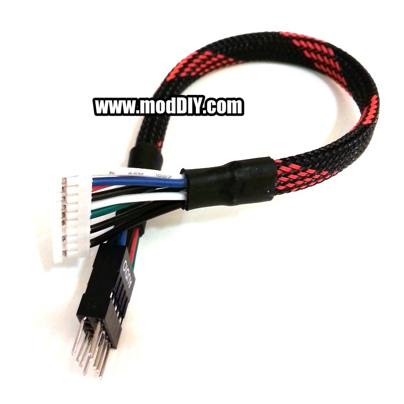 Creative Sound Card 51 71 Front Panel Audio Cable 20cm - modDIY