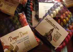 A Few Of Our Current Mini Skein Sets