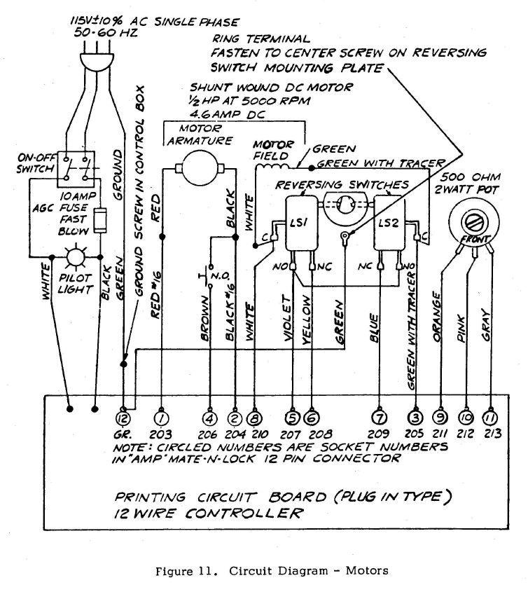 bridgeport milling machine wiring diagram