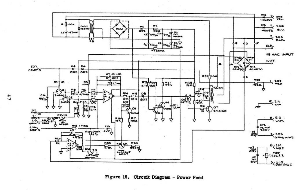bridgeport series ii wiring diagram