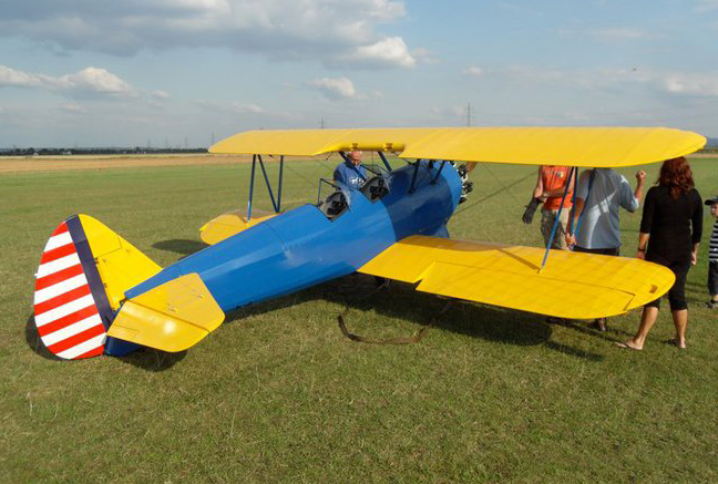 62 Scale RC Stearman PT-17 - Model Airplane News - how would you weigh a plane without scales