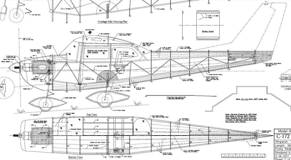 Cessna 172 Engineering Schematics Wiring Diagram