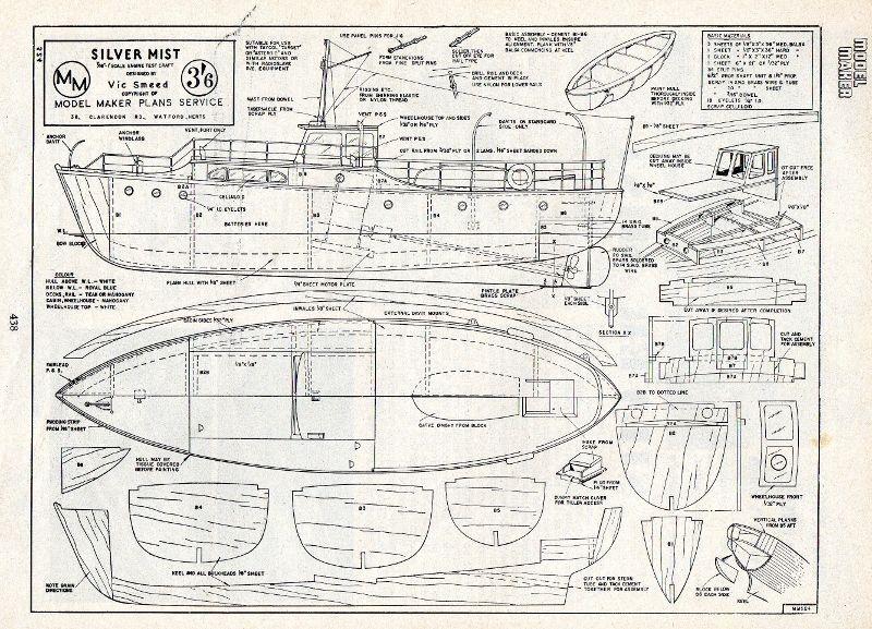 Resultado de imagen de balsa wood model boat plans remolcador - travel request forms