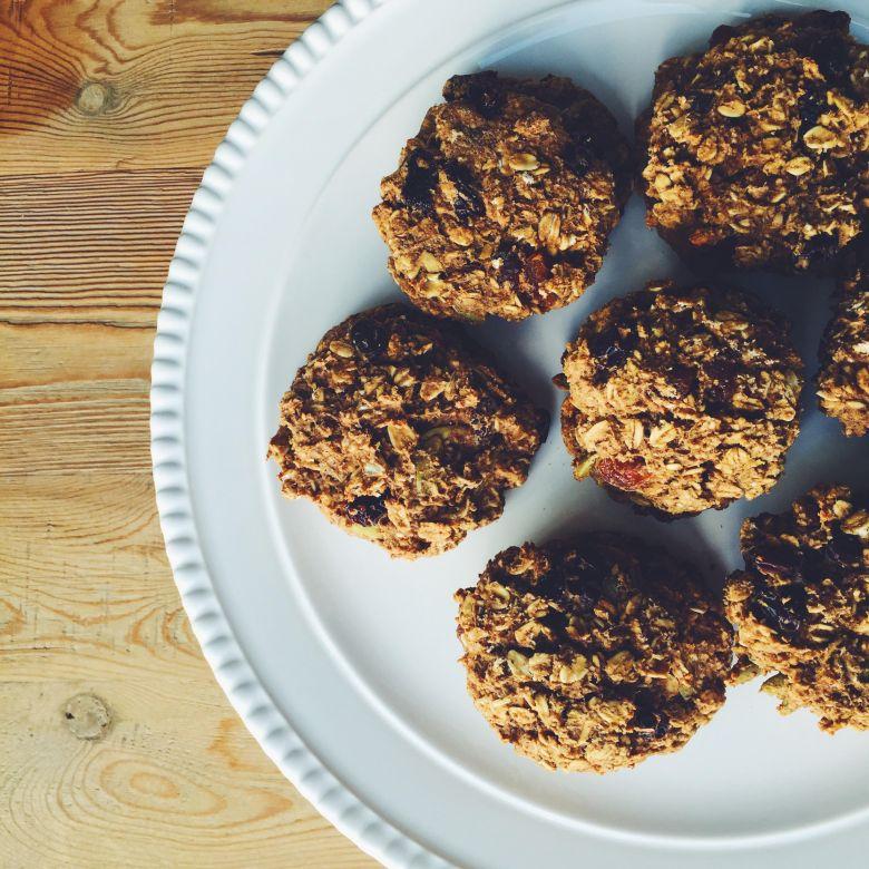 On the Go, Breakfast Cookies
