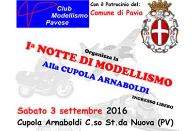 Permalink to:Il CMP alla 1′ Notte di Modellismo a Pavia
