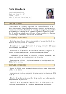 Job Resume In Spanish How To Write A Curriculum Vitae Resume In Spanish English The Cv In The Netherlands Resume Templates